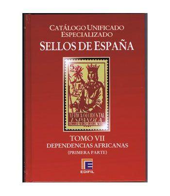 EDIFIL España S.Roja ed.2012 especializado Tomo VII. Dep. Africa Catalogos Filatelia - 2