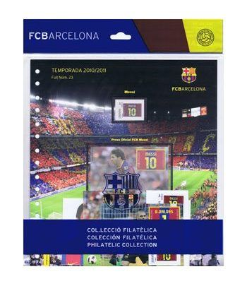 Colección Filatélica Oficial F.C. Barcelona. Pack nº08.  - 1