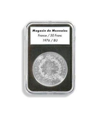 LEUCHTTURM Capsulas EVERSLAB 34 mm. (5) Capsulas Monedas - 2
