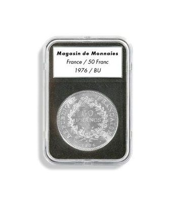 LEUCHTTURM Capsulas EVERSLAB 40 mm. (5) Capsulas Monedas - 2