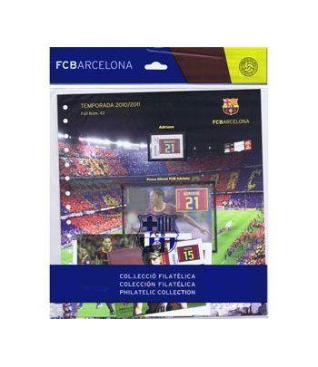 Colección Filatélica Oficial F.C. Barcelona. Pack nº19.  - 1