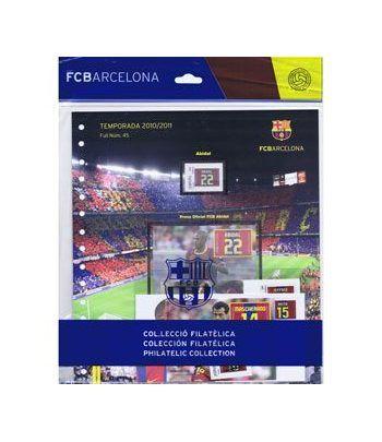 Colección Filatélica Oficial F.C. Barcelona. Pack nº20.  - 1