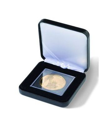 LEUCHTTURM Estuche de metal NOBILE para 1 QUADRUM XL. Estuche Monedas - 2