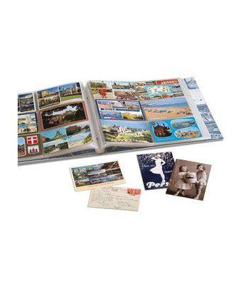 LEUCHTTURM Album para postales, 6 divisiones para 600 postales. Album postales - 4