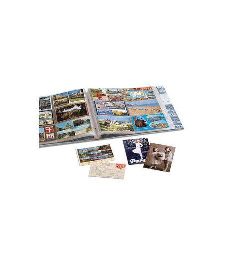 LEUCHTTURM Album para postales, 6 divisiones para 600 postales. Album postales - 1