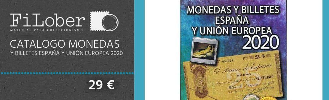 Oferta Catalogo Monedas y billetes España y Unión Europea 2020.